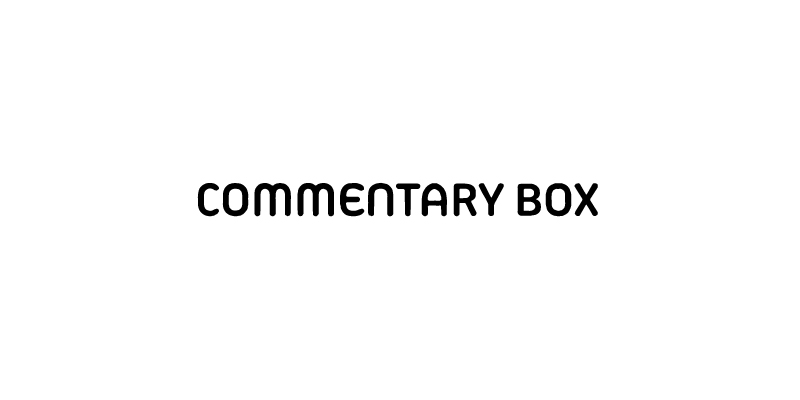Commentary box logo
